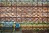 Lattice Shadows (Richard Melton) Tags: shadows bricks garden lattice lynnville tennessee