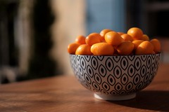 France - Nîmes, récolte de kumquats (caro_travels) Tags: france nîmes citrusfruit agrumes kumquat kumquats orange bokeh fuji fujifilm fujifilmxt10 summer summertime sunshine fruits