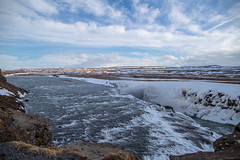 Gullfoss Waterfall (Camino Estrada) Tags: gullfoss waterfall river water nature savage blue cold winter inceland canon canon6d nationalgeographic