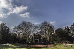 Krematorium Krefeld (kittimat62) Tags: krefeld friedhof krematorium niederrhein himmel sky wolken nrw clouds