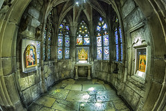 Gothic Chapel French Early  XVI Century (TAC.Photography) Tags: 2018yip chapel religious stainglass relics spiritual meditative tomclarknet tacphotography