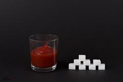 104 g Ketchup = 8 Stück Würfelzucker