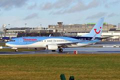 G-TAWR  B737-8K5(WL)  Thomson Airlines (n707pm) Tags: gtawr b737 boeing 737 737800 737wl airport airline airplane aircraft ireland eidw dub collinstown thomsonairlines thomson 25012014 cn37256 dublinairport