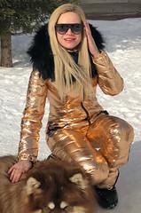 odri gold (skisuitguy) Tags: skisuit snowsuit ski snow suit skiing skifashion skiwear skioutfit onepieceskisuit onepiecesuit onesie onepiece skibunny snowbunny skianzug skidress