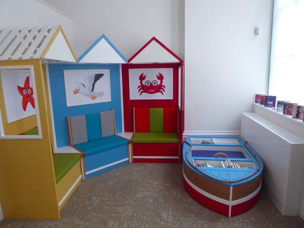 Corner of the children