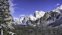 Yosemite Tunnel View (punahou77) Tags: yosemite yosemitenationalpark yosemitevalley bridalveilfalls halfdome elcapitan valley nature nikond500 nationalpark night landscape landmark stevejordan sierras sierranevada punahou77 park pines forest roadtrip california clouds
