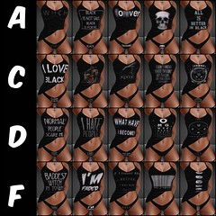 ☽O☾BlackIsh☽O☾ (bexhaven) Tags: black faded moon naughty pagan panties singlet skulls wicca witch toxicdolls outfit dark goth