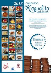 Cartel del concurso organizado por la Asociación Gastronómica Lobiano.
