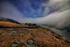 Signal Hill fog. (Shoestring Photos) Tags: signalhill queensbattery stjohns newfoundland ultrawideangle