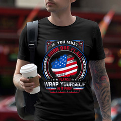 If You Must Burn Our Flag. Please Rap Yourself In It First. Gildan Ultra Cotton T-Shirt. Black.  | Loyal Nine Apparel (LoyalNineApparel) Tags: 1776 2a america americafirst ar10 ar15 ccw colddeadhands conservative constitution freedom godblessamerica gunfanatics gunlove gunrights igshooters instagood libtards loyalnineapparel loyalnineclothes mensstyle pewpew pewpewpew tactical threepercent usa usaflag weaponsdaily wethepeople