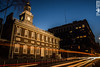 Passing History (SMPhotos2548) Tags: independencehall history historic night nightphotography lighttrails light evening city philadelphia philly longexposure