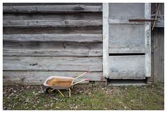 Wheelbarrow (EFRH) Tags: wheelbarrow toy leicaq