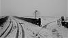 Winter Endures (_J @BRX) Tags: longwood huddersfield kirklees yorkshire england uk march 2018 colnevalley winter nikon d5100 snow landscape sky cloud fog grey field