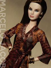 SECOND SKIN (PYTHON) (marcelojacob) Tags: marcelo jacob live love lace agnes fashion royalty nuface doll barbie silkstone dress