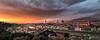 Florencia Panorámica al anochecer (antoniopérezsánchez) Tags: florence firence florencia italia italy panorámica panoramic anochecer dusk nikond5500 antoniopérez puestadesol