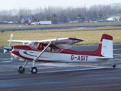 G-ASIT Cessna 180 Private (Aircaft @ Gloucestershire Airport By James) Tags: gloucestershire airport gasit cessna 180 private egbj james lloyds