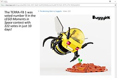 Top 25 results blog update 3-12-2018 LEGO Moments in Space contest (buggyirk) Tags: vehicles lego ideas contest moc afol terrafb 1 mars spaceship space toy toys bumblebee bumble bee plants plant mission terraforming terraformer terraform earth cannon cannons cockpit yellow black bud sprout sprouting water mech robot buggyirk robots mecha planet science scientific fiction hive colony conservation garden grow life astronaut astronauts vehicle