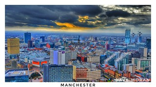 Manchester On A Saturday Morning.