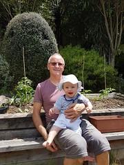 Jardinage avec papy Didier