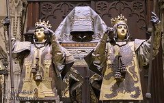 Tomb of Christopher Columbus (Mike Snell Photography) Tags: christophercolumbus sevillecathedral tomb catafalque seville sevilla spain kings castile leon aragon navarre cathedral church holy religion explorer