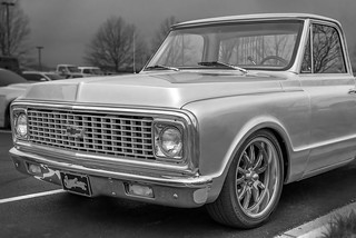 West Coast Customs Chevy C10 (Cars & Coffee of the Upstate)