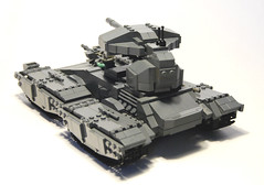 "M808B ""Scorpion"" Main Battle Tank (iTomWalker) Tags: halo scorpion tank lego moc afol"