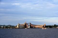 Soy factory owned by Cargill in Santarem (JuhaOnTheRoad) Tags: brazil amazonia amazon river boat tropics santarem para tapajos arapiuns