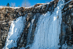 Nature's Ice Sculptures (Fraser8888) Tags: ice mountain snow winter canada bc nikon 35mm d60 majestic sculpture forming