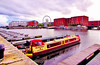 The Shapes on the Water (Francesco Impellizzeri) Tags: liverpool england canon landscape clouds ngc