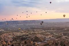 Cappadocia - Baloon (tanjuanlaş) Tags: carlzeiss zeiss 2470 ilce7m2 sony tourist turkey morning rock tuff nature beauty landscape baloon cappadocia