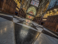 religion vs religion in world of division (Wizard CG) Tags: st mary redcliffe church bristol england uk hdr samsung fisheye lens gothic architecture grade i listed building stained glass anglican parish epl7 ngc world trekker micro four thirds 43 aisle hall mosaic vault ceiling wood room people