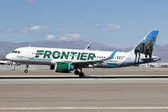 N312FR_AirbusA320Neo_FrontierAirlines_LAS (Tony Osborne - Rotorfocus) Tags: airbus a320 a320271 neo frontier airlines united states chocolate moose las vegas mccarren airport 2018 a320neo