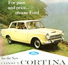 Ford Consul Cortina Deluxe (1962) (andreboeni) Tags: publicity advert advertising advertisement illustration ford consul cortina deluxe mk1