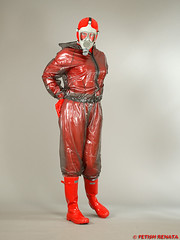 PUL_TTB_A61xB5C_HL_03 (fetish.renata) Tags: rainwear rainsuit pvc shiny wellies transparentblackthickpvc rubberboots gasmask pvculike evercreaturesgloss pláštěnky holínky