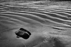 Low Tide (jonnorthf64) Tags: lymeregis water rocks sand sea seascape bnw blackand white nikon d3200 monochrome reflection pattern beach jurassic coast marine tide tidal lowtide fossils uk dorset charmouth outside air digital silver sunlight