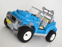 10252 Offroader front (NKubate) Tags: lego creator 10252 alternate volkswagen beetle offroad jeep