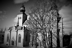 Domkyrkan (Tinus Dehabe) Tags: gotland visby domkyrka church sweden architecture vinter blackandwhite bw blachwhite