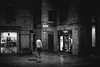 Split, Croatia (pas le matin) Tags: street candid night travel croatia hrvastka europe europa man people shop road rue ruelle croatie voyage nuit city ville building canon 7d canon7d canoneos7d eos7d nb bw noiretblanc blackandwhite