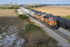 Brookfield Sub action. (Machme92) Tags: bnsf burligrton bn ge dash9 railroad railfanning railroads railfans rails rail row railroading missouri american america emd
