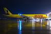 DHL Air Boeing 757-28A(PCF) G-DHKK (Mario Alberto Ravasio) Tags: dhl air boeing 75728apcf gdhkk oriospotter ramp reflection nightshot nightspotting airportlife flickr freighter cargo boeing757