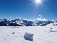 Alpbach (hugoholunder) Tags: alpbachtal schnee sonne tirol österreich wolken himmel