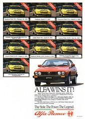 1986 Alfa Romeo GTV6 Aussie Original Magazine Advertisement (Darren Marlow) Tags: 1 6 8 9 19 86 1986 a alfa r romeo g t v gtv6 c car cool collectible collectors classic automobile vehicle e european europe i italian italy 80s