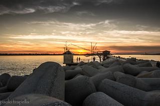 Sunset a Sottomarina