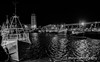 Fish Quay (sidrog28) Tags: boats tyne fish wuay dock night cold uk newcastle black white northeast shields north rivertyne river