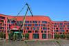 Duisburg - Innenhafen (03) - Landesarchiv NRW (Pixelteufel) Tags: duisburg nordrheinwestfalen nrw architektur fassade gebäude innenstadt city stadtmitte stadtkern büro bürohaus bürogebäude office innenhafen