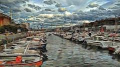 trintxerpe - pasaia - gipuzkoa (Antonio-González) Tags: trintxerpe pasaia gipuzkoa angovi mar barcos embarcaciones puerto amarre