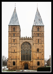 West Front (veggiesosage) Tags: southwell southwellminster nottinghamshire aficionados gx20 grade1listed cathedral minster