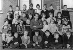 Class photo (theirhistory) Tags: school class form group photo boys girls children kids jumper trousers shoes wellies teacher boots