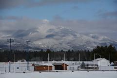 DSC_4642a (Fransois) Tags: lakeplacid ny mountain adks adirondacks usa nuages clouds hiver winter trees sky newyorkstate upstatenewyork