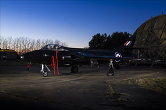 Hawker Hunter FGA9 - 26 (NickJ 1972) Tags: raf icons suffolk wattisham timeline events tle photoshoot photocall photo shoot night hawker hunter fga9 black arrows xg194